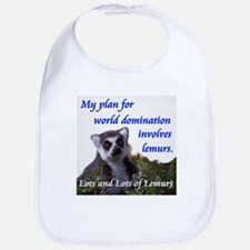 Domination Lemurs Bib