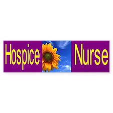 Hospice Nurse Bumper Car Sticker