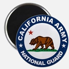 California Army National Guar Magnet
