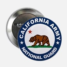 "California Army National Guar 2.25"" Button"