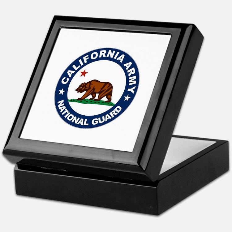 California Army National Guar Keepsake Box