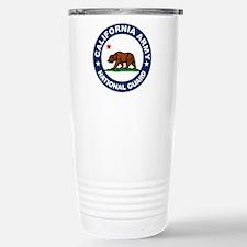 California Army National Guar Travel Mug