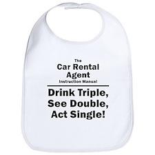 Car Rental Agent Bib