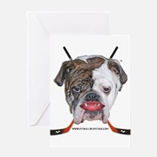 Unique Pit bull political Greeting Card