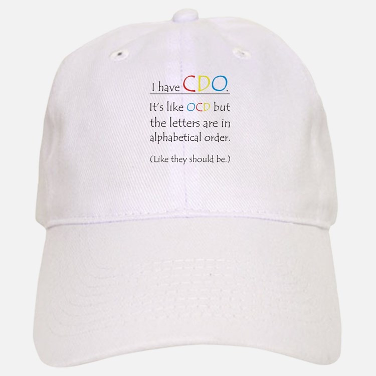 I have CDO ... Baseball Baseball Cap
