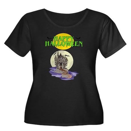 Happy Halloween (Haunted House) Women's Plus Size