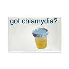 Got Chlamydia? Rectangle Magnet