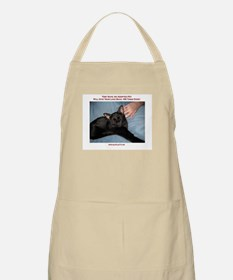 Adopted Pets Love BBQ Apron