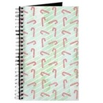 Striped Candy Cane Journal