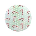 """Striped Candy Cane 3.5"""" Button"""