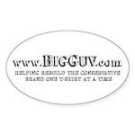 Big Guv Oval Sticker (10 pk)