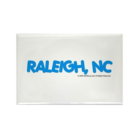 Raleigh, NC Rectangle Magnet