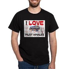 I Love Pilot Whales T-Shirt