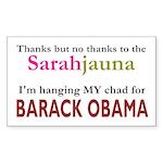 Sarahjauna Rectangle Sticker 50 pk)