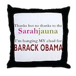 Sarahjauna Throw Pillow