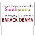 Sarahjauna Yard Sign