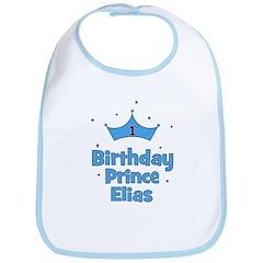 1st Birthday Prince Elias! Bib