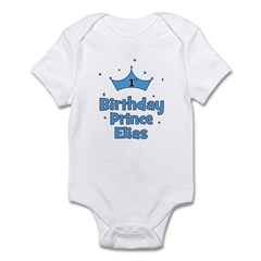 1st Birthday Prince Elias! Infant Bodysuit