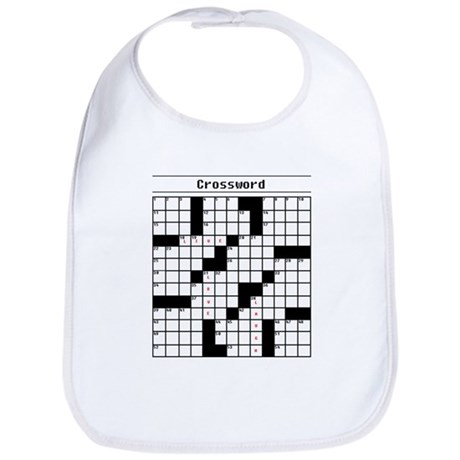 Crossword Puzzle Bib