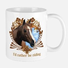 I'd Rather Be Riding Horses Mug