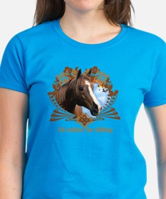I'd Rather Be Riding Horses Tee
