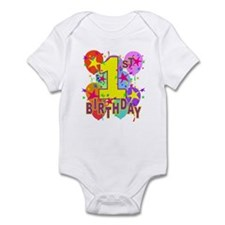 BIRTHDAY 1 Onesie