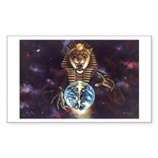 The Second Coming of Sekhmet Rectangle Decal