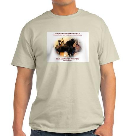 Spay and Neuter Light T-Shirt