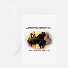 Spay and Neuter Greeting Card