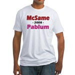 McSame Pablum Fitted T-Shirt