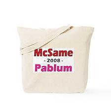 McSame Pablum Tote Bag