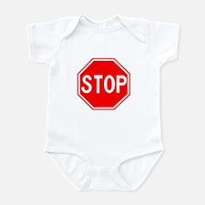 Stop Sign Infant Bodysuit