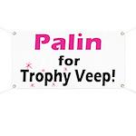 Trophy Veep Banner