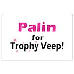 Trophy Veep Large Poster