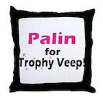 Trophy Veep Throw Pillow