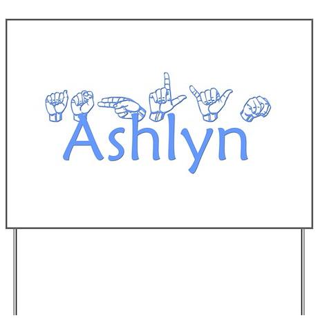 Ashlyn Yard Sign