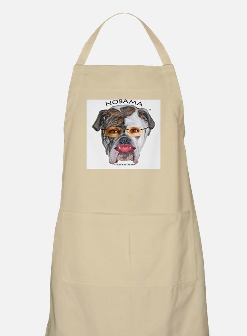PIT BULL WITH LIPSTICK BARBQUE APRON, 20% TO RNC