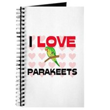I Love Parakeets Journal