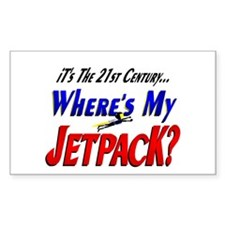 Funny Jet Pack Future Decal