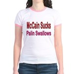 McCain Sucks Jr. Ringer T-Shirt