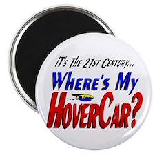 Where's My HoverCar Magnet