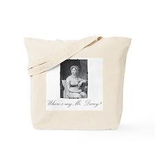 Where's my Mr. Darcy/Mr. Knightly Tote Bag