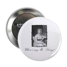 Where's my Mr. Darcy? Button