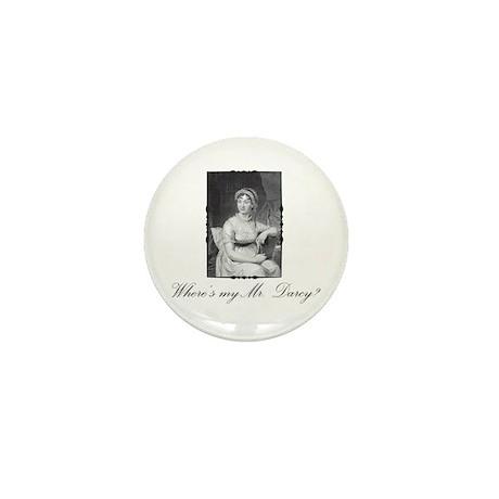 Where's my Mr. Darcy? Mini Button (100 pack)