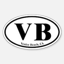 Venice Beach VB Euro Oval Oval Decal