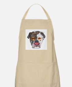PIT BULL WITH LIPSTICK APRON 20% PROFIT TO RNC