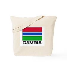 Gambia Flag Tote Bag