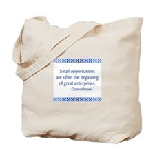 Demosthenes Tote Bag