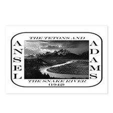 Tetons & Snake River Postcards (Package of 8)