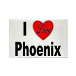 I Love Phoenix Rectangle Magnet (10 pack)